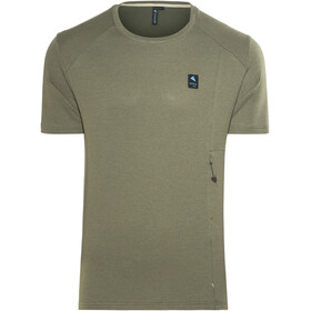 Klättermusen Vee Tee Men Dusty Green